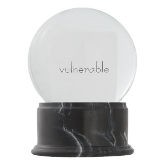 V*lnerable Snow Globe