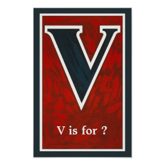 """V"" POSTERS"