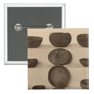 V Stone vessels, So California 15 Cm Square Badge