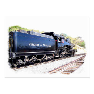 V & T Steam Locomotive Business Card Templates