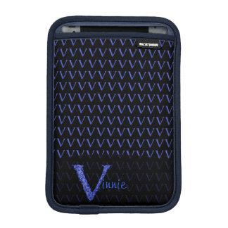 V - The Falck Alphabet (Blue) iPad Mini Sleeves