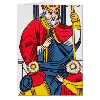 V The Pope, Tarot card