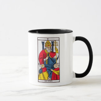 V The Pope, Tarot card Mug