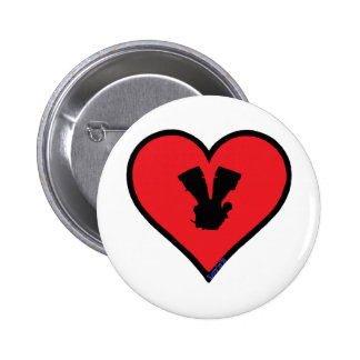 V twin buttons