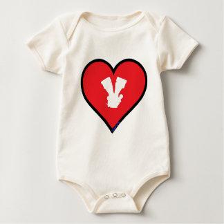 V Twin chameleon Baby Bodysuit