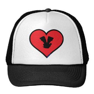 V twin mesh hat
