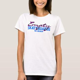 VA Beach Ladies Empty T T-Shirt
