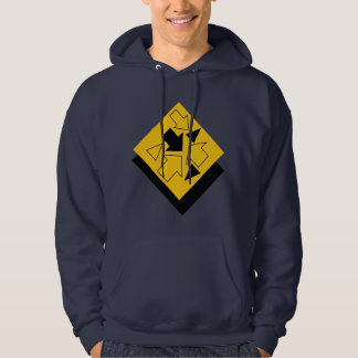 va-ca going my way navy hoodie by DAL