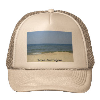 vaca 180, Lake Michigan Trucker Hats