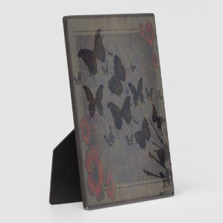 Vacant Butterfly Small Photo Plaque