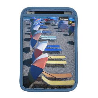 Vacant Chairs On Beach Sleeve For iPad Mini