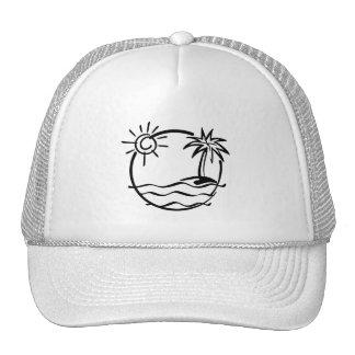 vacation15_112607 TROPICAL VACATION ISLAND SKETCH Cap