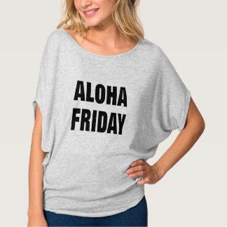 vacation aloha friday funny tgif t-shirt design