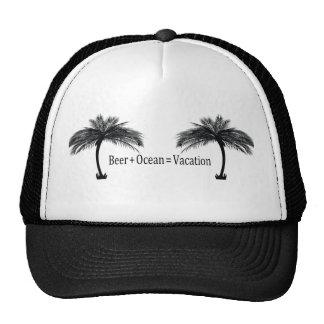 vacation at the beach hats