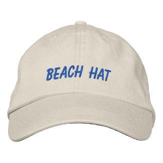 Vacation Beach Hat Words Custom Wording Baseball Cap