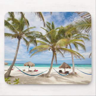 Vacation Beach Mouse Mat
