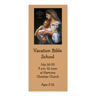 VACATION BIBLE SCHOOL INVITATION After Bougeureau Customized Rack Card