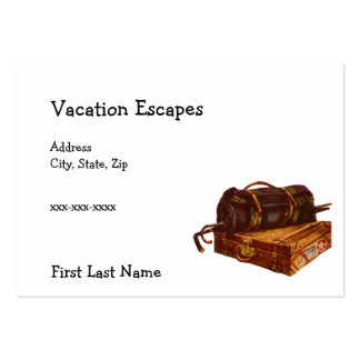 Vacation Escapes Business Card Template