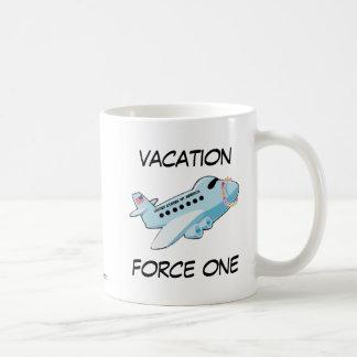 Vacation Force One Basic White Mug