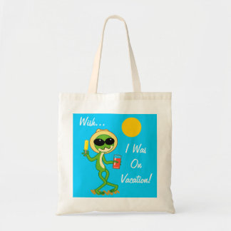 Vacation Frog Tote Bag