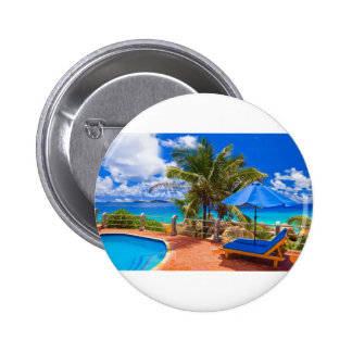 Vacation Getaway 6 Cm Round Badge