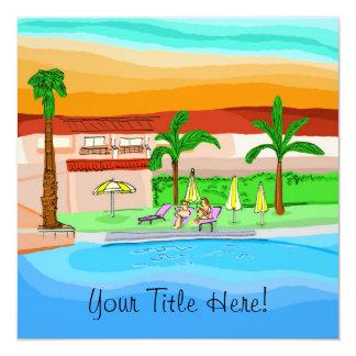 Vacation - Greeting Card / Invitation