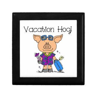 Vacation Hog Jewelry Box
