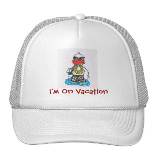 Vacation Humor Fun Cap
