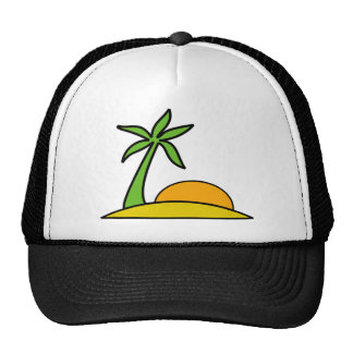Vacation in the Beach Mesh Hat