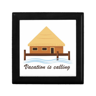Vacation is Calling Keepsake Boxes