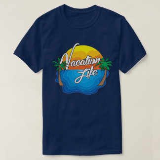 Vacation Life Full Logo T-Shirt