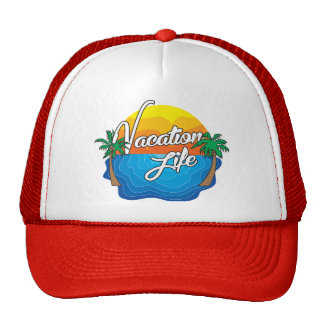 Vacation Life Trucker hat