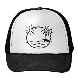 Vacation Mesh Hats