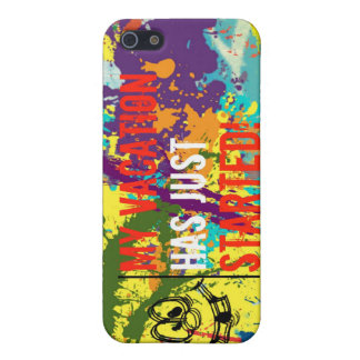 Vacation Notification iPhone Case iPhone 5 Cases