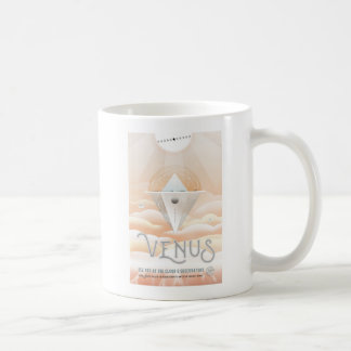 Vacation on Venus Space Tourism Coffee Mug