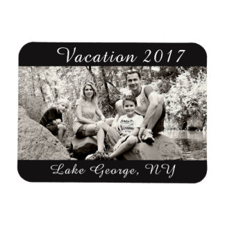 Vacation Photo Magnet