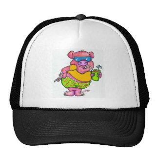 Vacation pig cap