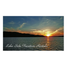 Vacation Rental Double-Sided Standard Business Cards (Pack Of 100)