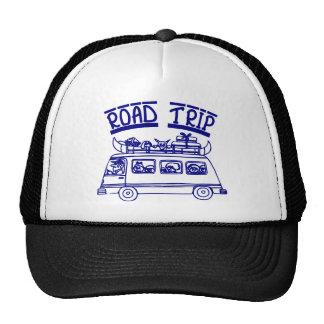Vacation Road Trip Mesh Hats