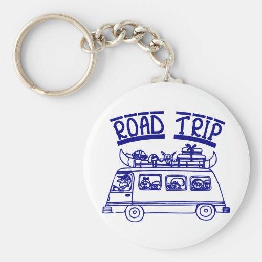 Vacation Road Trip Key Chain