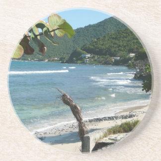 Vacation souvenir coaster