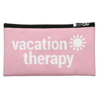 Vacation Therapy Cosmetic & Jewelry Bag
