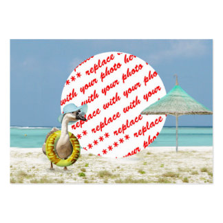 Vacation Time Goose Beach Scene Photo Frame Pack Of Chubby Business Cards