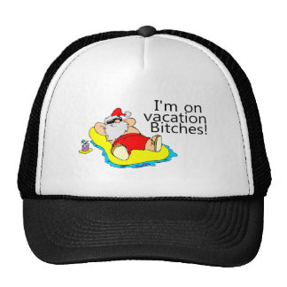 Vacationing Santa Claus Hats