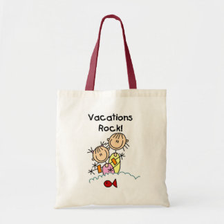 Vacations Rock T-shirts and gifts Tote Bag