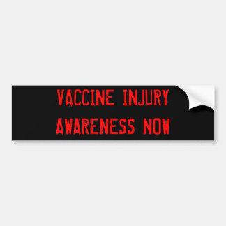 Vaccine Injury Awareness Now bumper sticker