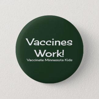 Vaccines Work, Minnesota! Button