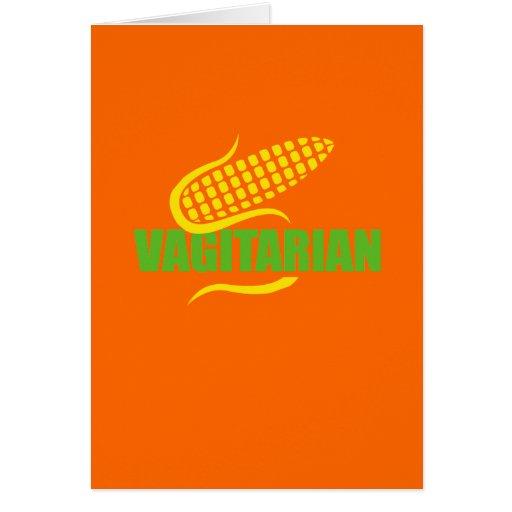 Vag-itarian Greeting Cards