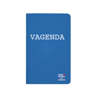 VAGENDA Pocket Checklist Journal
