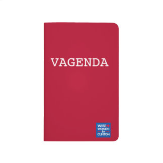VAGENDA Pocket Checklist Journals